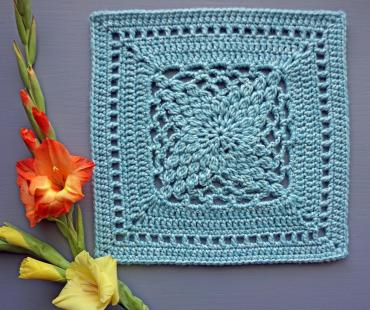 week 21 � origami flower � crochet a long with us