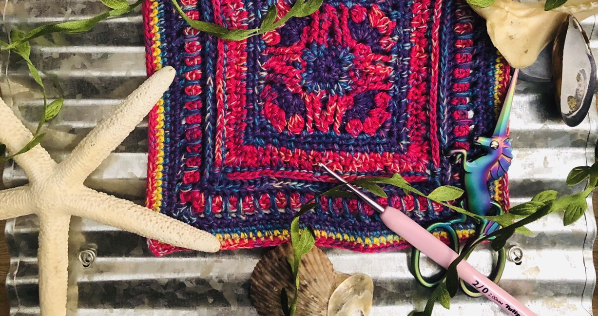 Probably my favorite crochet project ever, a Frida Kahlo tapestry ... | 648x1227